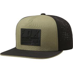 Fox Redplate Tech Snapback Cap Men fatigue green